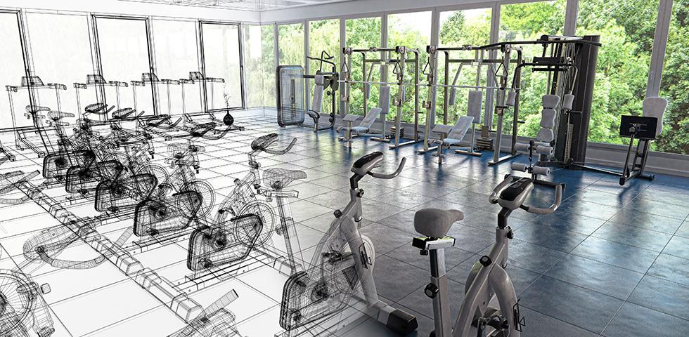 cuanto cuesta montar un gimnasio interna - sated