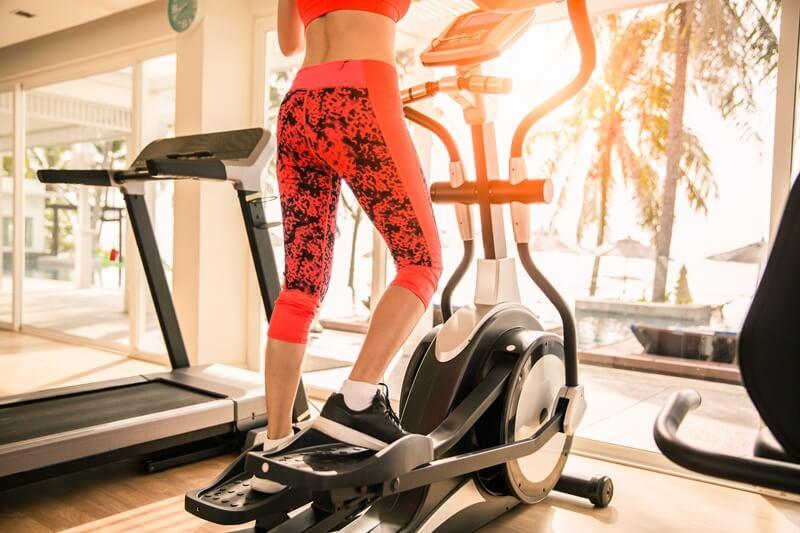 bicicleta eliptica - sated fitness - maquinas de gimnasio nombres y funciones