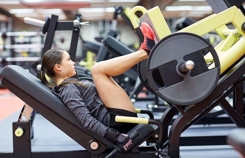 prensa de piernas -sated fitness - mantenimiento de aparatos de gimnasio