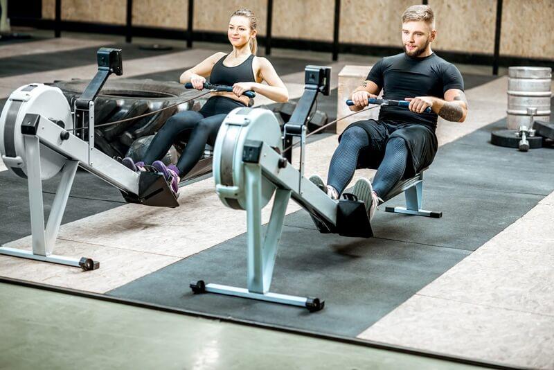 maquina de remo - sated fitness - maquinas de gimnasio