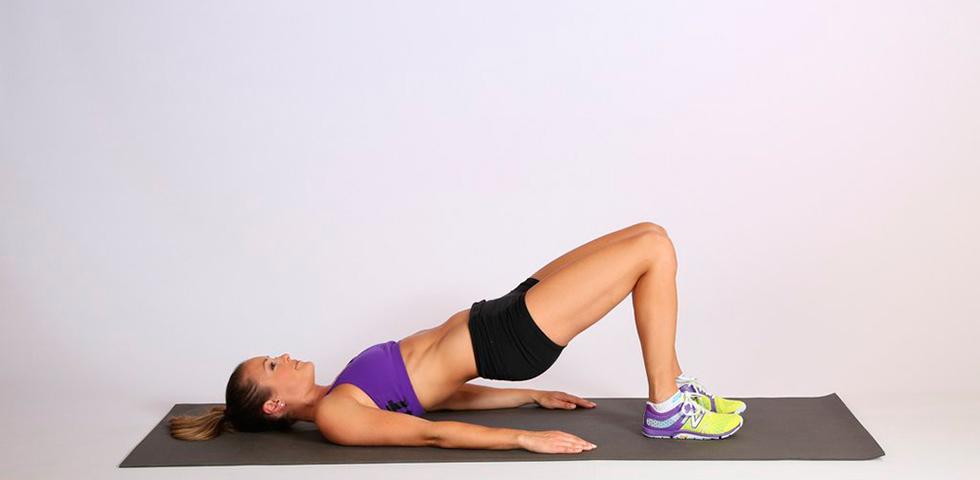Ejercicios Core Puente en marcha - Sated Fitness